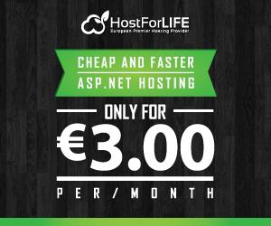 European ASP NET 4 5 Hosting BLOG | All posts tagged 'asp